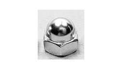 Polished Chrome Crown Nut