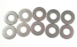 Stainless Steel Flat Washers - 10mm