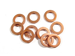 Copper Washers 6 mm