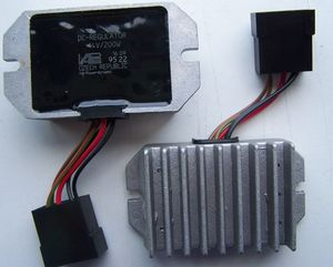 Rectifier/regulator for powerdynamo systems