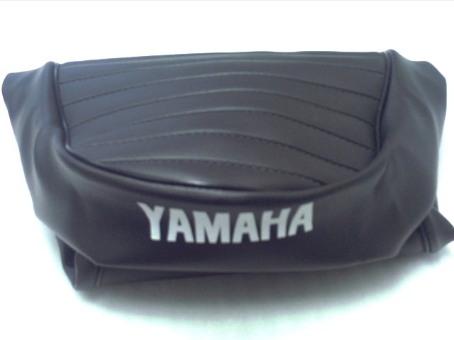 Seat cover XS 1 Yamaha sign in white