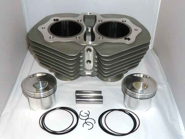 Cylinder and Piston Kit 533 Type Big-bore 750cc [9:1] [new design]