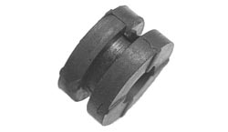 Rubber Grommet with metal bushing