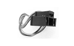 Headlamp Plug - 3 prong Socket with wires