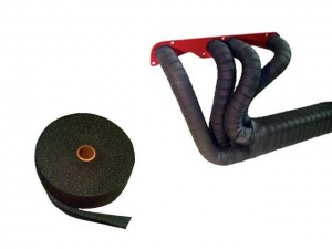 Exhaust Insulating Wrap Black, per meter
