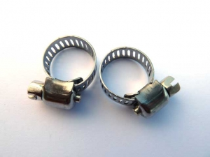 Stainless Steel Hose Clamp, set 2